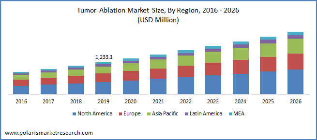 tumor ablation market size